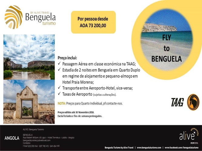 Fly to Benguela